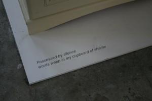shame installation artel 2015