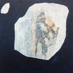 'Stoneflake' gesso, glue, pigment, acrylic on board, 25cm x 25cm £385